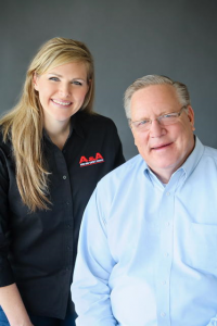 Alan and April of AA Fire and Safety Company