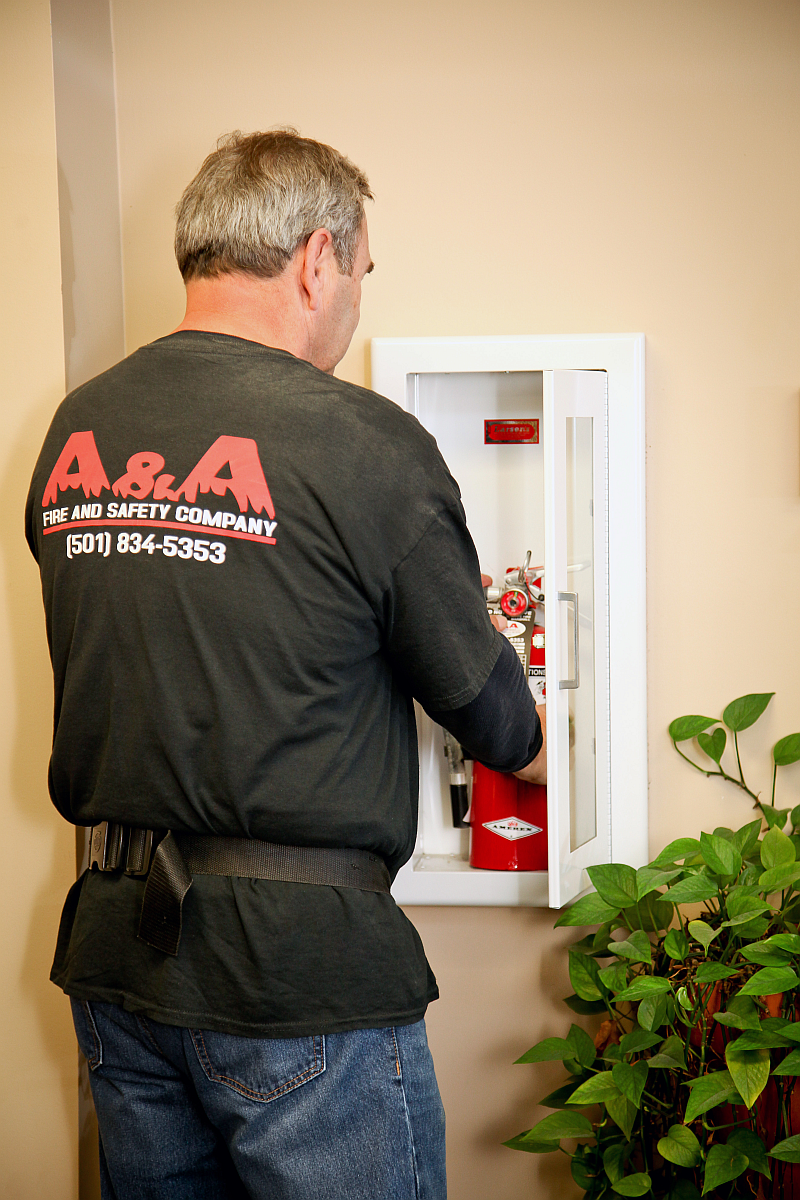 Fire Extinguisher Service   A & A Fire and Safety Company