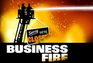 Arkansas Fire Prevention Code inspections, closed business due to fire
